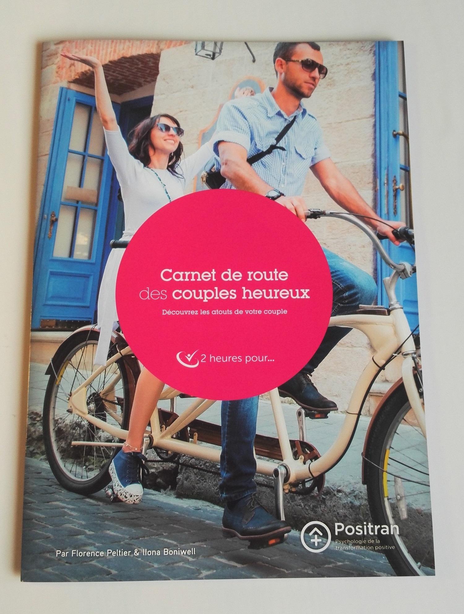 Carnet de route des couples heureux. 2 heures pour
